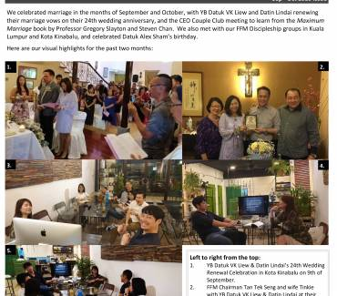 FFM Sept and Oct Newsletter